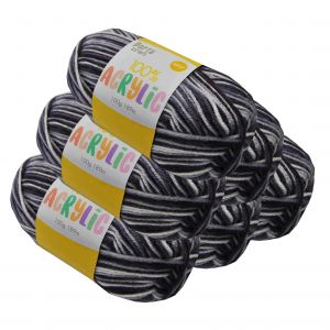 Acrylic_Yarn_100g_189m_8ply_Multi_Charcoal