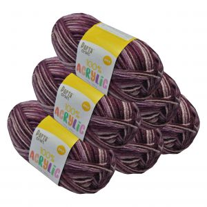 Acrylic_Yarn_100g_189m_8ply_Multi_Berry