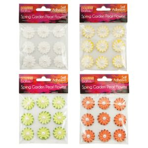 Flower_with_Pearl_S/Adhesive_Pkt9