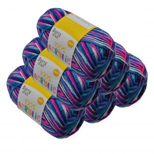 Acrylic_Yarn_100g_189m_8ply_Multi_Gobstopper