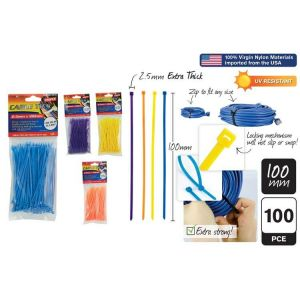 100pce_Cable_Ties_2.5x100mm_4_AsstColour_30710