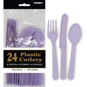 Assorted_Cutlery_Lavender_Pk24