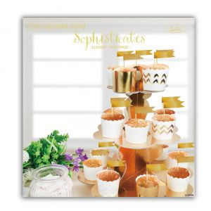 3_Tier_Cup_Cake_Stand_Metallic_Gold