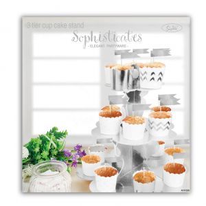 3_Tier_Cup_Cake_Stand_Metallic_Silver