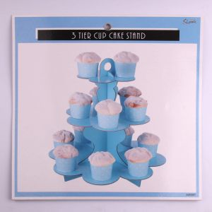 3_Tier_Blue_Paper_Cake_Stand