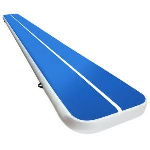 6m_x_1m_Inflatable_Air_Track_Mat_20cm_Thick_Gymnastic_Tumbling_Blue_And_White