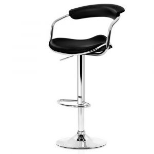 Artiss_2x_Leather_Bar_Stools_ADE_Kitchen_Chairs_Swivel_Bar_Stool_Black_Gas_Lift
