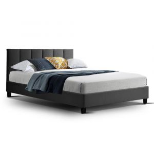 Artiss_Bed_Frame_Double_Size_Base_Mattress_Platform_Fabric_Wooden_ANNA_Charcoal