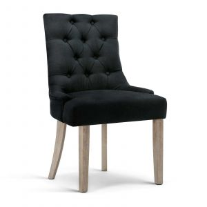 Artiss_French_Provincial_CAYES_Dining_Chair_Black