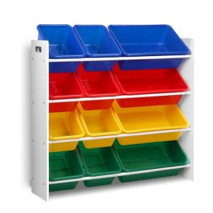 Artiss_12_Bin_Toy_Organiser_Storage_Rack