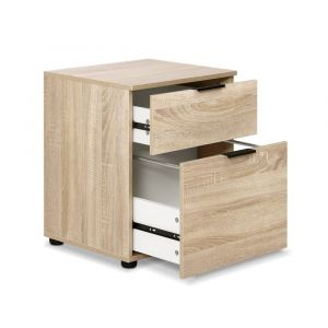 2-Drawer-Filing-Cabinet-Office-Shelves-Storage-Drawers-Cupboard-Wood-File-Home