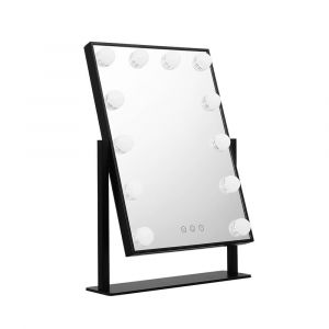 Embellir_LED_Standing_Makeup_Mirror_-_Black