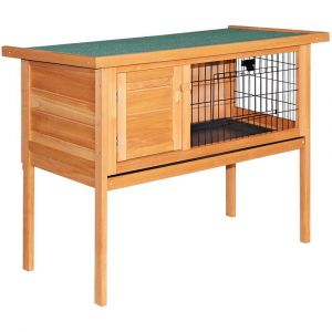 i.Pet_70cm_Tall_Wooden_Pet_Coop_with_Slide_out_Tray