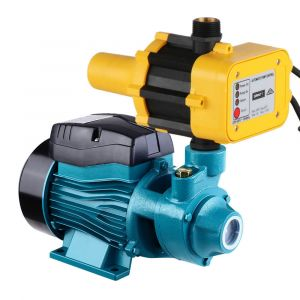 Auto_Peripheral_Water_Pump_Clean_Electric_Garden_Farm_Rain_Tank_Irrigation_QB60_Yellow