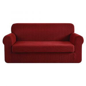 Artiss_2-piece_Sofa_Cover_Elastic_Stretch_Couch_Covers_Protector_3_Steater_Burgundy