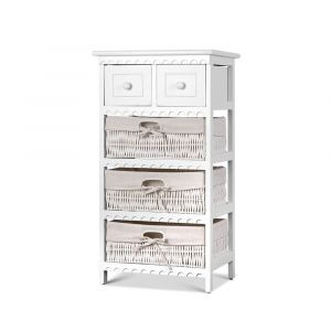 Artiss_3_Basket_Storage_Drawers_-_White