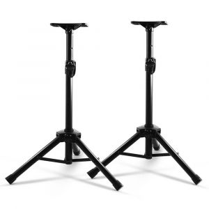 Set_of_2_Adjustable_120CM_Speaker_Stand_-_Black