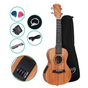 ALPHA_23_Inch_Concert_Ukulele_Electric_Mahogany_Ukeleles_Uke_Hawaii_Guitar_with_EQ