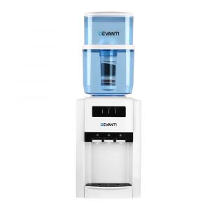 Devanti_22L_Bench_Top_Water_Cooler_Dispenser_Filter_Purifier_Hot_Cold_Room_Temperature_Three_Taps