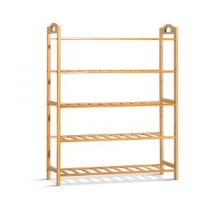Artiss_5-Tier_Bamboo_Shoe_Rack_Organiser_Storage_Shelf_Stand_Shelves